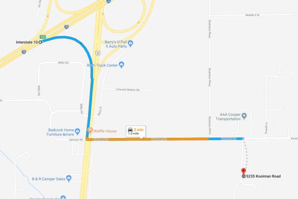 Mobile-AL-Kooiman-Road